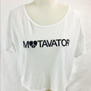 🌷5/$25 Graphic Bethany Mota Crop Tee Shirt